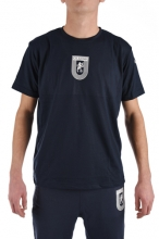Tricou antrenament bumbac navy